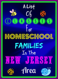 Classes for NJ Homeschool Families