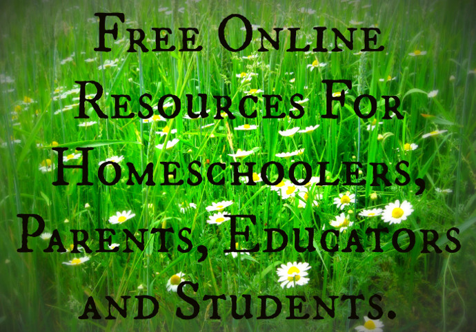 Free Online Resources For Homeschoolers