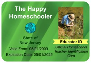 ID Card The Happy Homeschooler