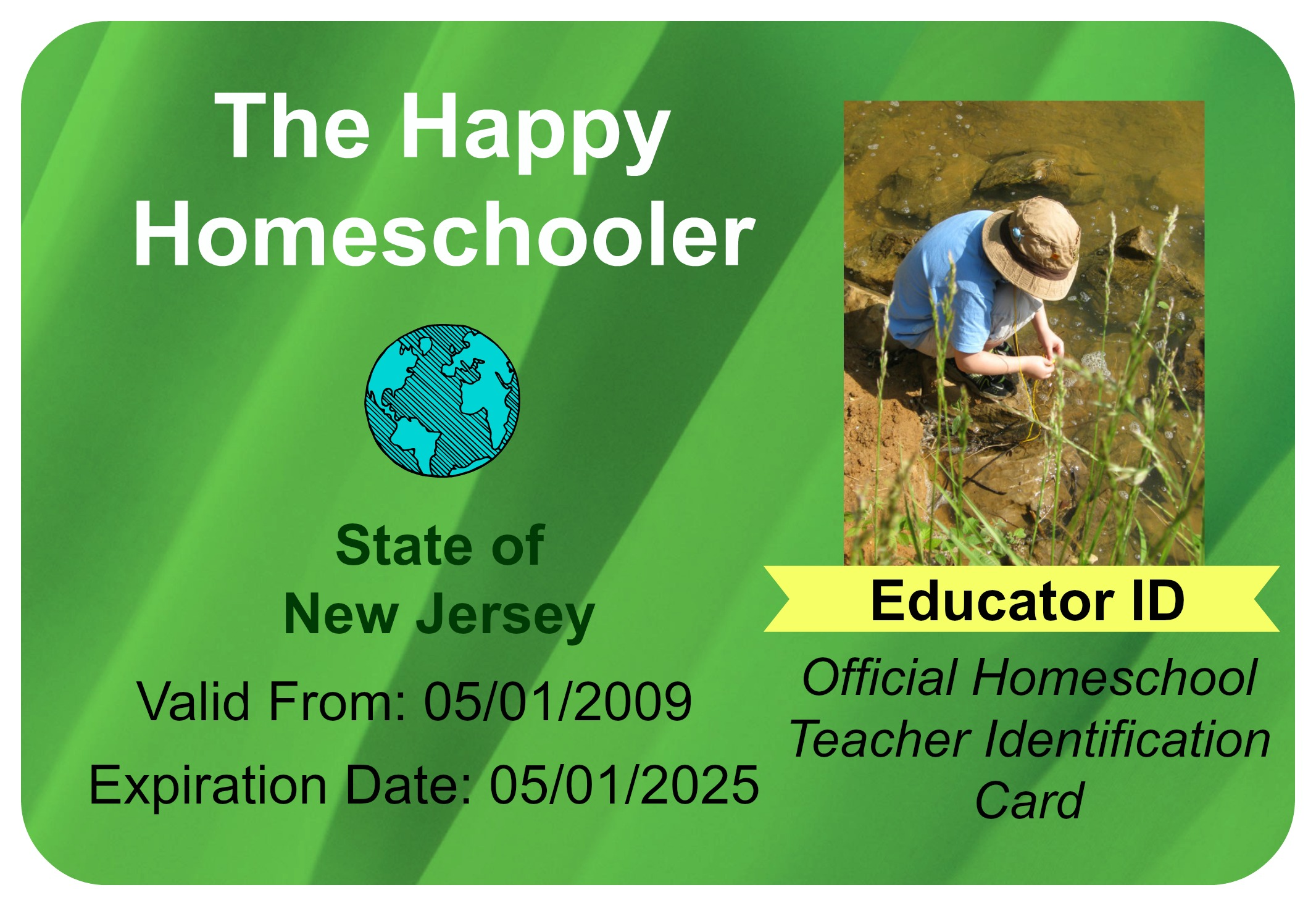 Where to Create a Homeschool ID Card